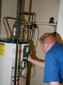 water heater CO